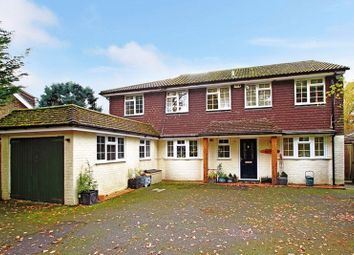 Thumbnail 4 bed detached house for sale in Grove Road, Cranleigh