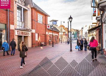 Thumbnail Retail premises for sale in Henblas Square, Wrexham