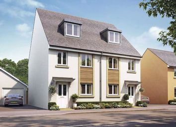 Thumbnail 3 bedroom semi-detached house for sale in Paper Mill Gardens, Portishead, North Somerset