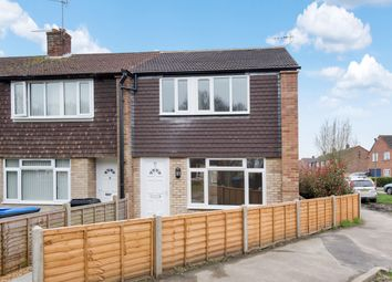 Thumbnail 3 bed end terrace house for sale in Highclere Gardens, Knaphill, Woking