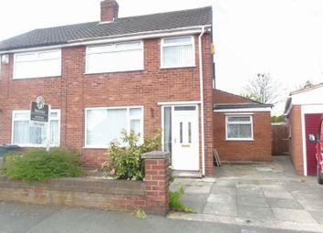 3 bed semi-detached house for sale in Sinclair Avenue, Whiston, Prescot L35