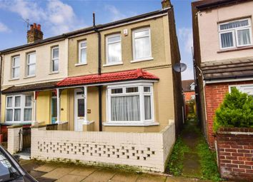 Thumbnail 3 bed end terrace house for sale in Campbell Road, Gravesend, Kent