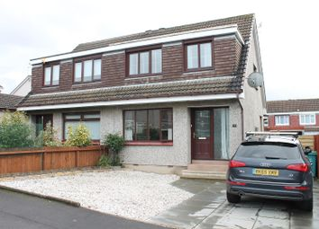 Thumbnail 3 bed semi-detached house for sale in Kilbride View, Uddingston, Glasgow