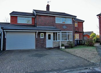 Thumbnail 4 bed detached house for sale in Deane Close, Whitefield, Manchester