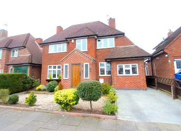 Thumbnail 4 bed detached house for sale in Lyncote Road, Leicester