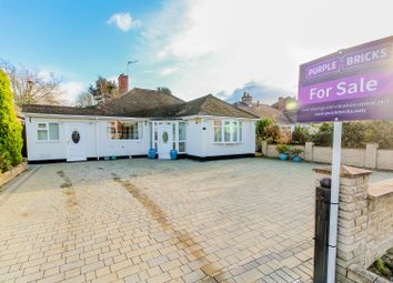 Thumbnail 3 bed detached bungalow for sale in Woodthorne Road South, Tettenhall, Wolverhampton