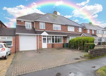 Thumbnail 5 bed semi-detached house for sale in Hiplands Road, Halesowen