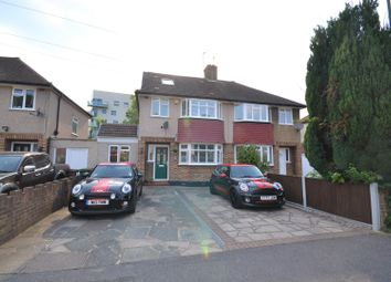 Thumbnail 4 bed semi-detached house for sale in Kingswood Drive, Carshalton