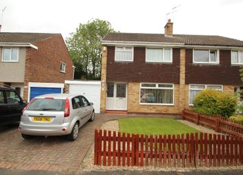 Thumbnail 3 bed semi-detached house to rent in Lowfield Drive, Haxby, York