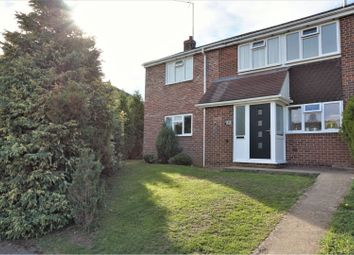 Thumbnail 4 bed semi-detached house for sale in Lanchester Drive, Banbury