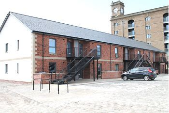 Thumbnail 2 bedroom flat to rent in Quayside Mews, Dundee