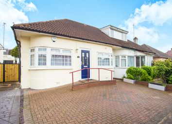 Thumbnail 3 bed semi-detached bungalow for sale in Kinloch Drive, London