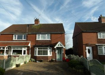 Thumbnail 3 bed semi-detached house for sale in Measham Road, Appleby Magna, Swadlincote, Derbyshire