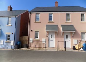 Thumbnail 2 bed semi-detached house for sale in Ffordd Y Celyn, Coity, Mid Glam.