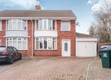 Thumbnail 3 bed semi-detached house for sale in Rock Close, Coventry