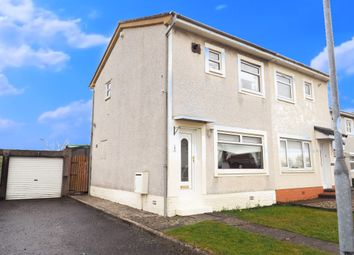 Thumbnail 2 bed semi-detached house for sale in Loudon Crescent, Kilwinning