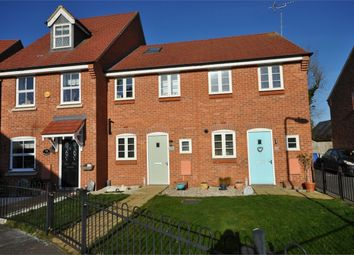 Thumbnail 3 bed terraced house for sale in Long Breech, Mawsley Village, Kettering, Northamptonshire