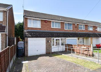 Thumbnail 3 bed end terrace house for sale in Nutbush Drive, Northfield, Birmingham
