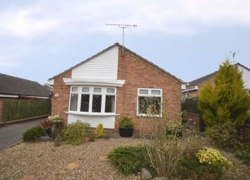 Thumbnail 2 bedroom bungalow for sale in Fieldway Crescent, Great Glen, Leicester