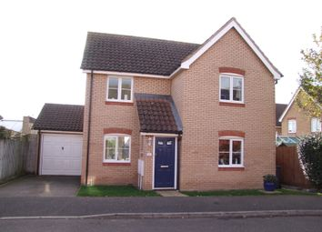 Thumbnail 3 bedroom detached house for sale in Long Avenue, Saxmundham, Suffolk