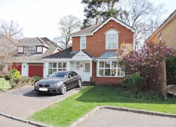 Thumbnail 4 bed detached house to rent in Heathside Park, Camberley