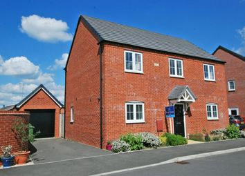 Thumbnail 4 bedroom detached house for sale in Snaffle Way, Evesham