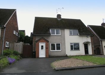 Thumbnail 2 bed semi-detached house for sale in Dudley, Russells Hall, Corbyn Road.