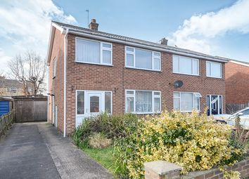 Thumbnail 3 bed semi-detached house for sale in Eastfield Crescent, York