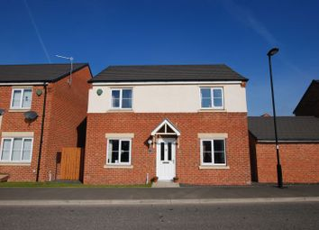 Thumbnail 3 bed detached house for sale in Havannah Drive, Wideopen, Newcastle Upon Tyne