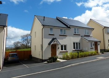 Thumbnail 2 bed semi-detached house for sale in St Davids Park, Llanfaes, Brecon