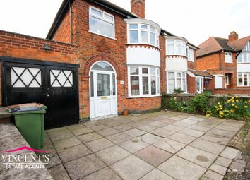 Thumbnail 3 bed semi-detached house for sale in Edward Avenue, Braunstone Town, Leicester