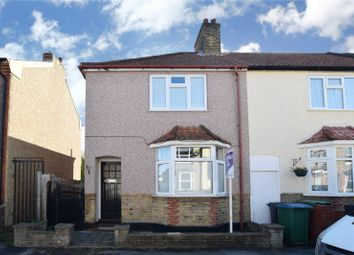 Thumbnail 2 bed end terrace house for sale in Benskin Road, Watford, Hertfordshire
