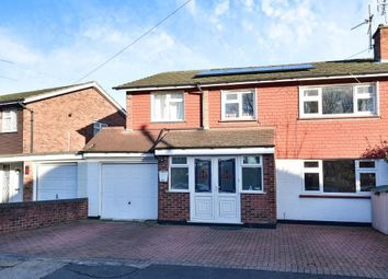 Thumbnail 4 bed semi-detached house for sale in Oakhall Drive, Sunbury-On-Thames