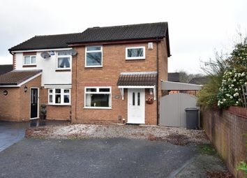 Thumbnail 2 bed semi-detached house for sale in Gairloch Close, Fearnhead, Warrington