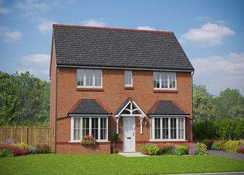 Thumbnail 4 bed detached house for sale in The Betws, Village Road, Northop Hall, Flintshire