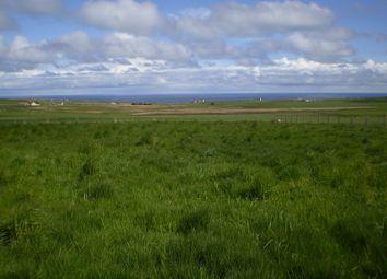 Thumbnail Land for sale in Hillside, Auckengill