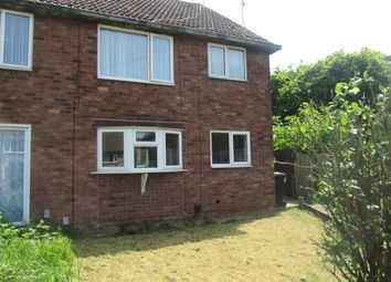Thumbnail 2 bedroom maisonette to rent in Fieldview Close, Exhall, Coventry