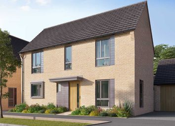 """Thumbnail 3 bed detached house for sale in """"The Doddington"""" at Heron Road, Northstowe, Cambridge"""