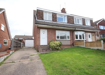 Thumbnail 3 bed semi-detached house to rent in Rigsby Court, Mickleover, Derby