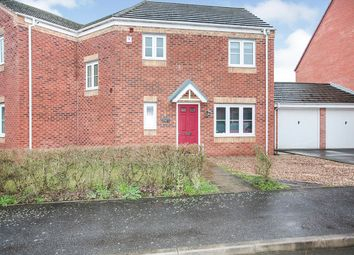 Thumbnail 4 bed semi-detached house for sale in Carnation Way, Nuneaton, Warwickshire
