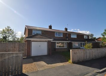 Thumbnail 4 bed semi-detached house to rent in Vane Road, Newton Aycliffe