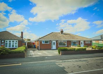 Thumbnail 2 bed semi-detached bungalow for sale in Slag Lane, Lowton, Warrington