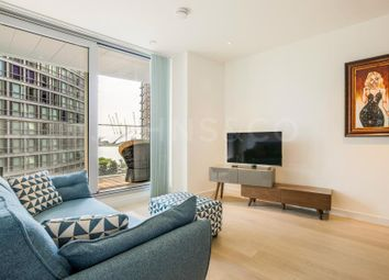Thumbnail 1 bedroom flat for sale in Charrington Tower, New Providence Wharf, London