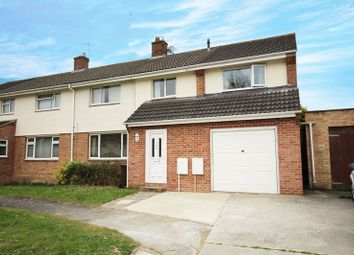 Thumbnail 4 bed semi-detached house for sale in Wasbrough Avenue, Wantage