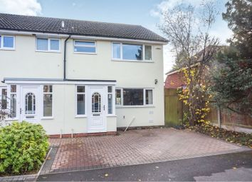 Thumbnail 3 bed semi-detached house for sale in Boley Lane, Lichfield