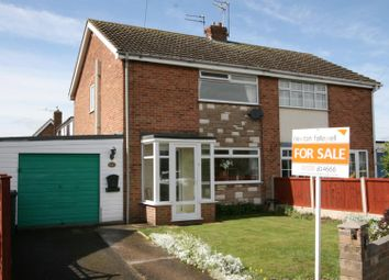 Thumbnail 3 bed semi-detached house for sale in Burns Close, Measham