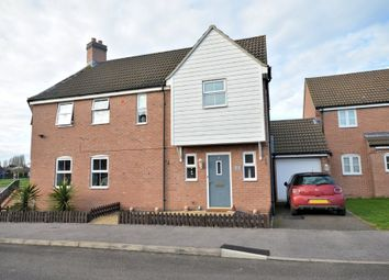 Thumbnail 3 bed semi-detached house for sale in Featherby Drive, Watlington, King's Lynn