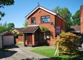 Thumbnail 4 bed detached house for sale in Heddon Close, Heaton Mersey