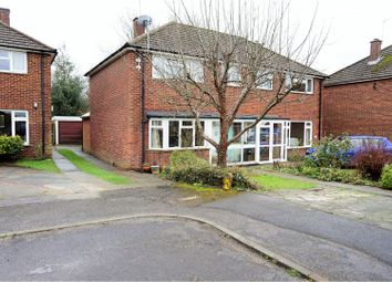 Thumbnail 3 bed semi-detached house for sale in Montfort Road, Sevenoaks