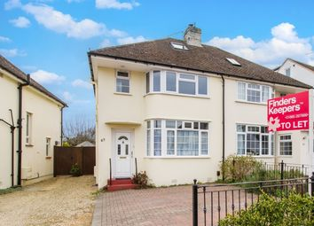 Thumbnail 3 bedroom semi-detached house to rent in Arthray Road, Botley, Oxford